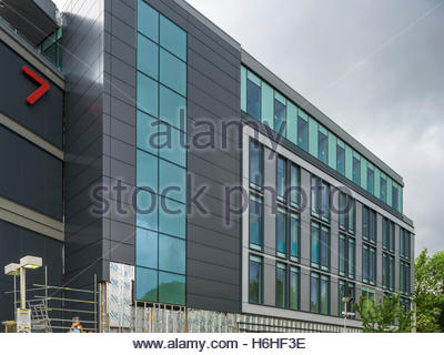 Subsea 7 office construction - Brighton Road, Sutton - Stock Photo