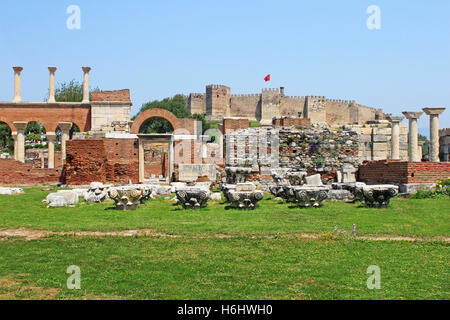 Temple Of Artemis And Byzantine Church Of Ancient Sardis ...