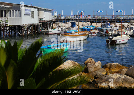 Harbour, port, water, sea, boat, old, fishing, harbor, marina, pier, ocean, transportation, up, rope, vessel, wood, - Stock Photo