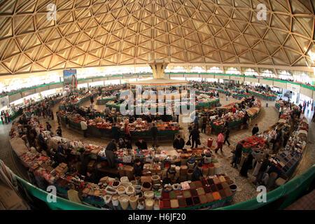Chorsu Bazaar, Tashkent, Uzbekistan. - Stock Photo