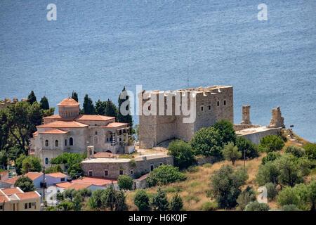 Lykourgos Logothetis Castle Pythagorion Samos Greece - Stock Photo