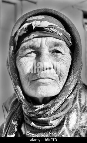 People of Kamashi, Uzbekistan. De mensen van Kamashi, Oezbekistan. - Stock Photo