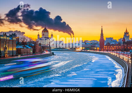 Winter in Moscow - Stock Photo