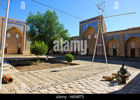 Tash Hauli Palace (Harem) Built By Allah Kuli Khan 1826-42 for his harem,entourage, with 163 rooms and three courtyards,Khiva - Stock Photo