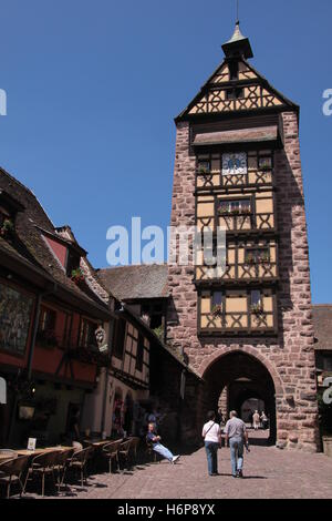 tower in the city walls - Stock Photo