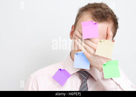humans human beings people folk persons human human being office note memo remember isolated space face person blank - Stock Photo