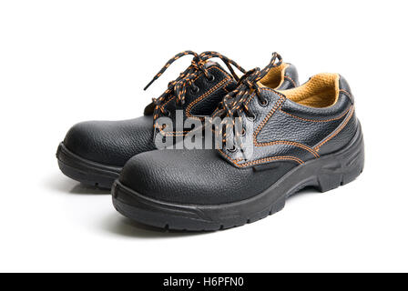 boot walk go going walking men man object travel isolated holiday vacation holidays vacations industry industrial - Stock Photo