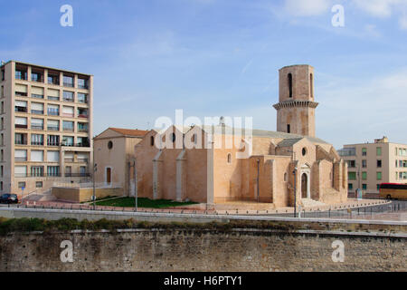 The Fort St-Jean, in Marseilles, France - Stock Photo