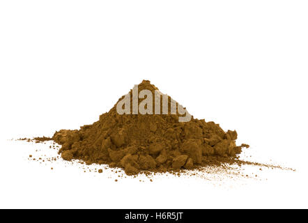 eco environment enviroment spice isolated ground soil earth humus brown brownish brunette bloom blossom flourish - Stock Photo