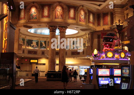 classical Roman columns and decoration with slots - Stock Photo