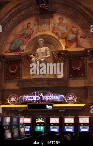 Caesar  at Caesars palace Las Vegas with slots - Stock Photo