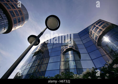 bmi federal ministry of the interior in berlin - Stock Photo