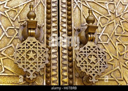 morocco fes royal palace - Stock Photo