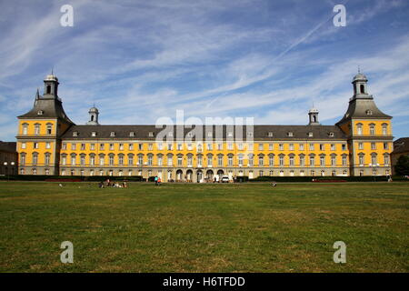 university of bonn in the electoral palace - Stock Photo