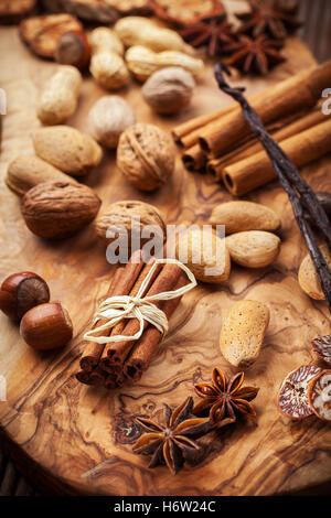 ingredients spices - Stock Photo