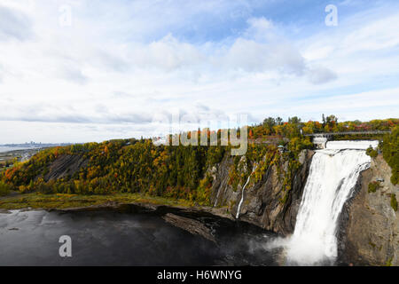 Montmorency Falls - Quebec - Canada - Stock Photo