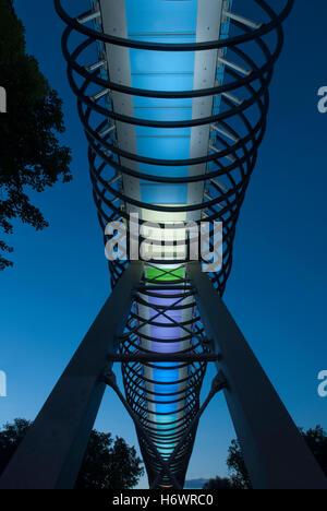 slinky springs to fame in oberhausen - Stock Photo