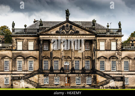Wentworth Woodhouse East facade - Stock Photo