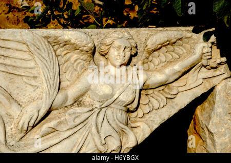 Nike The Greek Goddess Of Victory Ephesus Archaeological Site