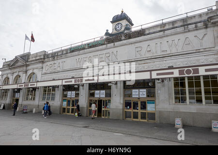 Cardiff central train station Wales United Kingdom - Stock Photo