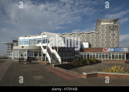 Cliffs Pavilion, Station Road, Westcliff-on-Sea, Southend-on-Sea, Essex, England - Stock Photo