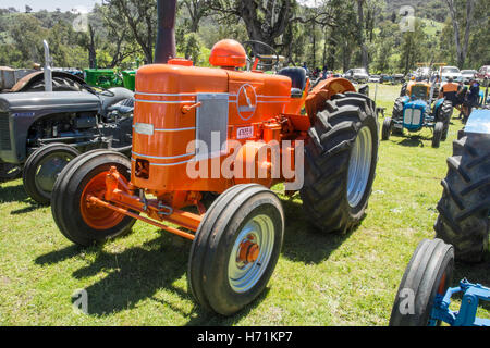 1954 Field Marshall Series 3A Single Cylinder 2 stroke Diesel  Tractor - Stock Photo