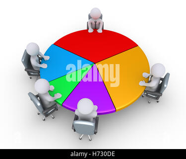 humans human beings people folk persons human human being office men man strategy chart colour model design project - Stock Photo