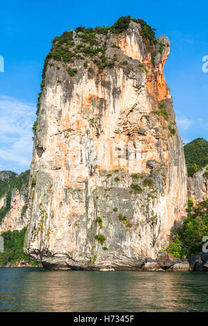 rocks of ao nang,krabi province,thailand - Stock Photo