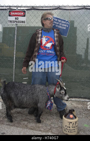 Novermber 2, 2016 - File - The Curse of the Billy Goat was the name of a sports-related curse that was supposedly - Stock Photo