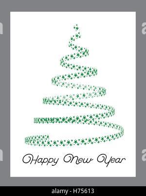 christmas tree from light stars h75613