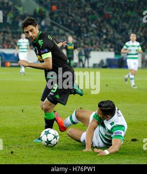 sports, football, UEFA Champions League, 2016/2017, Group Stage, Group C, Matchday 4, Borussia Moenchengladbach - Stock Photo