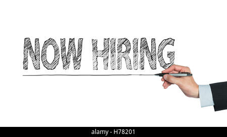 now hiring written by hand, hand writing on transparent board, photo