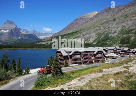 Many glacier hotel, Montana, USA