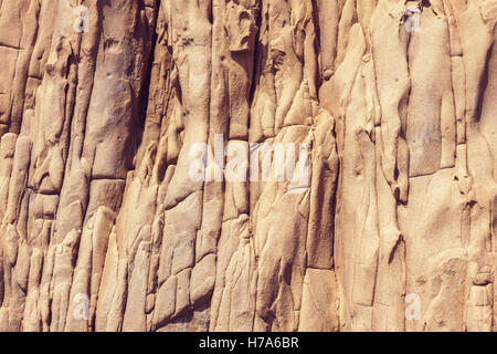 Mountain detail, natural solid rock background - Stock Photo