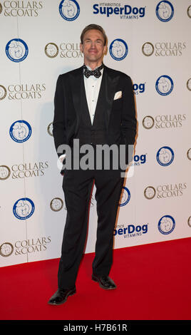 London, UK. 3rd November, 2016. attends Battersea Dogs and Cats Home's Annual Collars and Coats Gala on November - Stock Photo