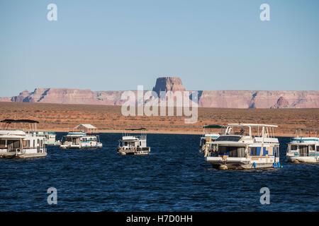 Lake Powell at Glen Canyon National Recreation Area in northern Arizona.