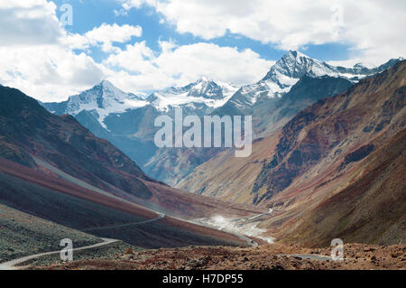 Manali-Leh highway - Stock Photo