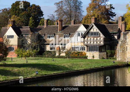 Accommodation wing for holiday / bed and breakfast guests at Hever Castle in Kent (available in Astor and Anne Boleyn wings). UK