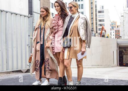London Fashion Week September 2016 - Stock Photo