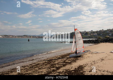 Bay of St Jean de Luz - Stock Photo