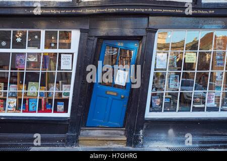 The Book Palace, bookshop in Canterbury Kent England United Kingdom UK - Stock Photo