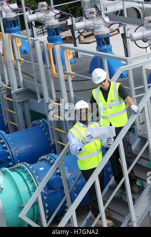 Discharge Of Waste Water From Point Source Usa Stock Photo