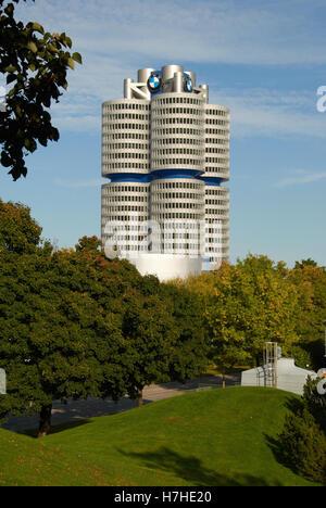 BMW car making plant - Stock Photo