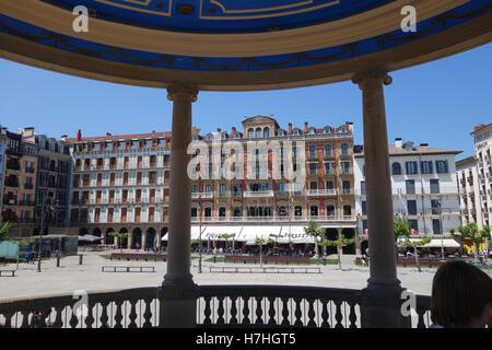 Pamplona in Navarre provence Spain - Stock Photo