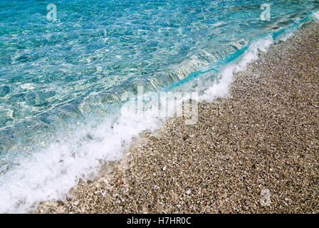 Apella Beach on the Greek island of Karpathos, Greece, Europe - Stock Photo