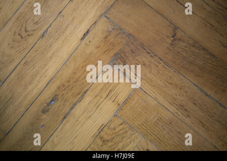 old wooden floorboards, background. - Stock Photo