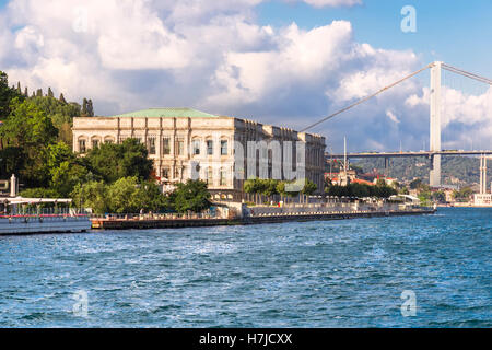Sights of Istanbul ,a cruise on the Bosphorus - Stock Photo