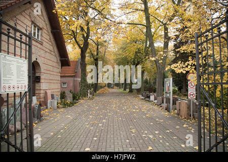 Tiergarten gate in Berlin - Stock Photo