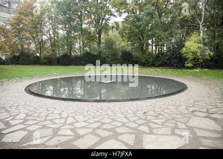 Memorial to the Sinti and Roma Victims of National Socialism - Stock Photo