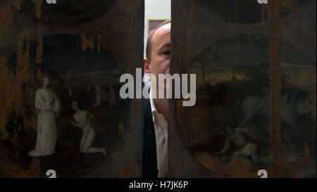 Hieronymus Bosch, Touched by the Devil (Dutch: Jheronimus Bosch, Touched by the Devil) is a 2015 Dutch documentary - Stock Photo